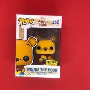 Funko Pop Disney Winnie The Pooh Flocked HT #252